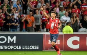 Sofiane Boufal - Lille - GFC Ajaccio