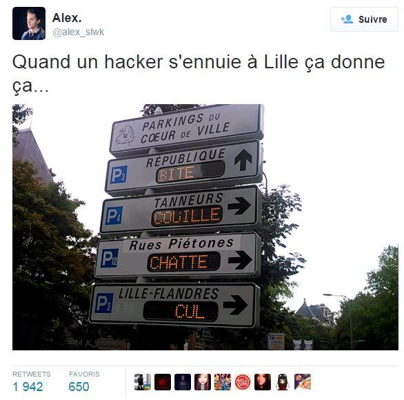 tweet hacking lille