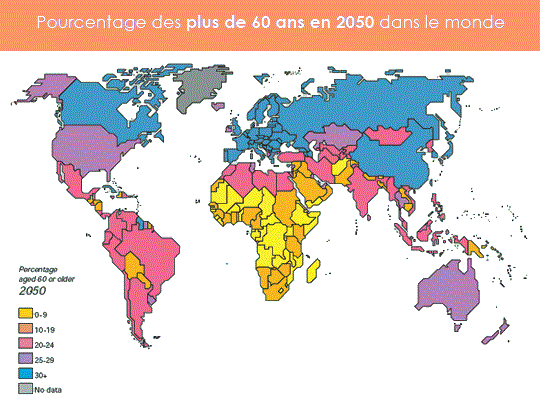 carte sénior monde