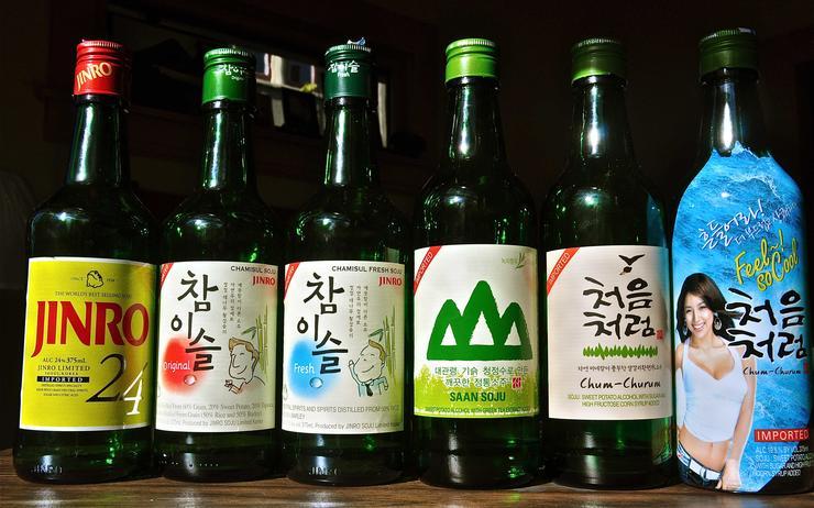 Un soju ? Oui pourquoi pas, mais lequel choisir ?