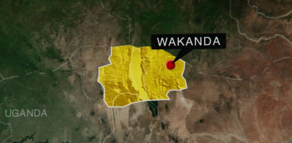 destination wakanda en Afrique